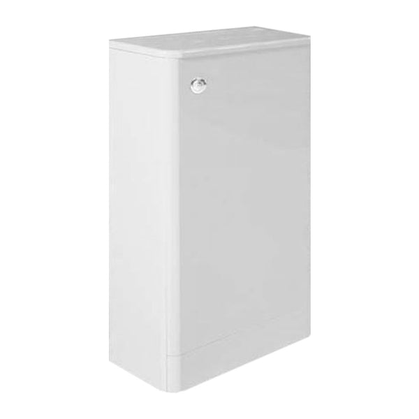 Optimal 500mm WC Toilet Bathroom Furniture Unit - White