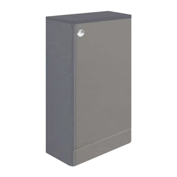 Optimal 500mm WC Toilet Bathroom Furniture Unit - Basalt Grey