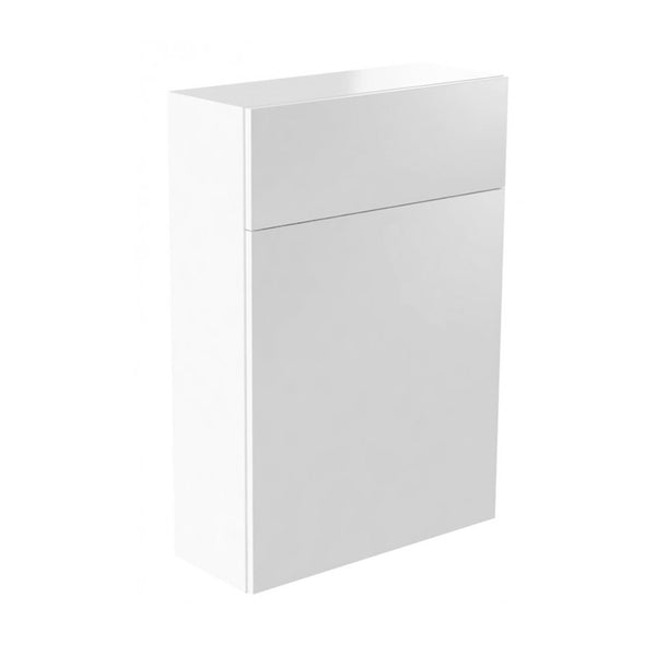 Inspired 500mm WC Toilet Bathroom Furniture Unit - White Gloss