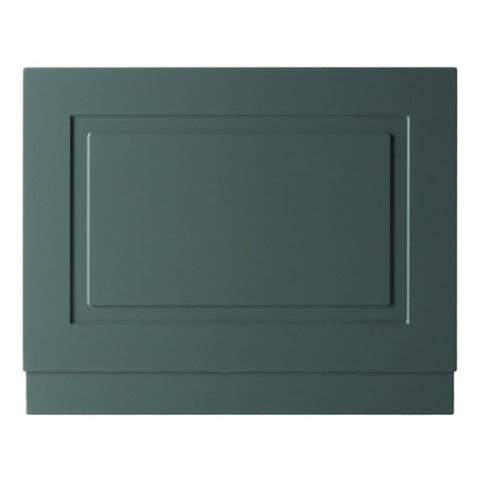 Artistic 800mm Bath End Panel - Matt Grey