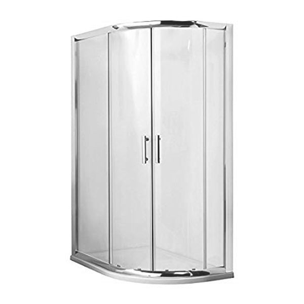 Kiss 1000mm x 800mm Offset Quadrant Shower Enclosure