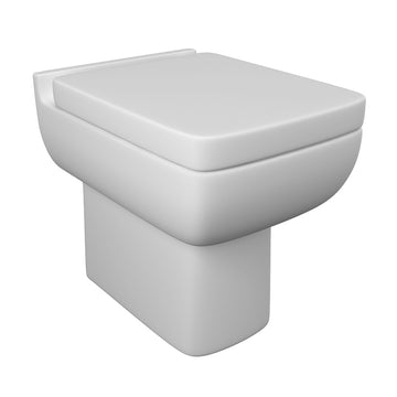 Optimism Back To Wall / Furniture Toilet Pan and Soft Close Toilet Seat