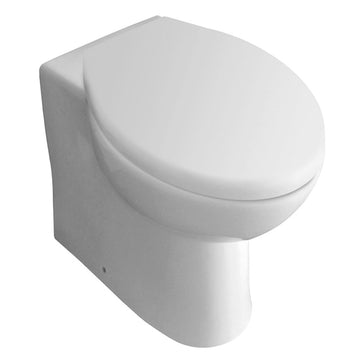 L4 Back To Wall / Furniture Toilet Pan and Soft Close Toilet Seat