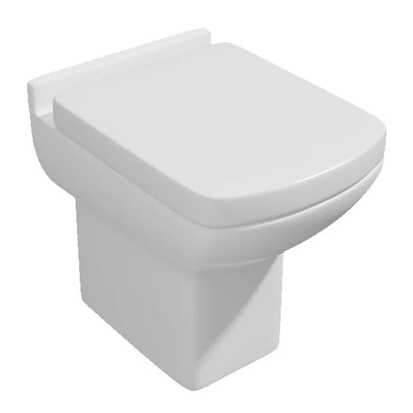 Purity Back To Wall / Furniture Toilet Pan and Soft Close Toilet Seat