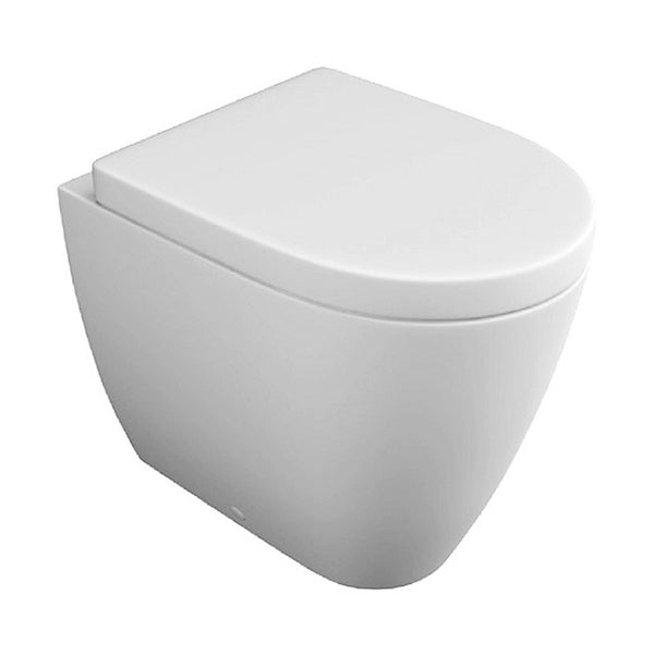 Graceful Back To Wall / Furniture Toilet Pan and Soft Close Toilet Seat