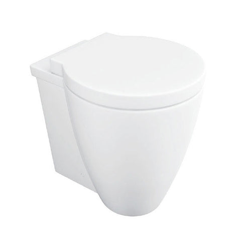 Rachel Back To Wall / Furniture Toilet Pan and Soft Close Toilet Seat