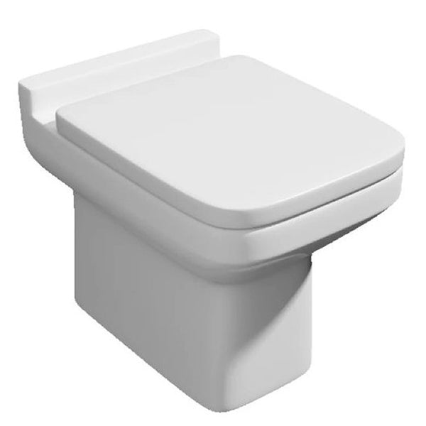 Thrive Back To Wall / Furniture Toilet Pan and Soft Close Toilet Seat