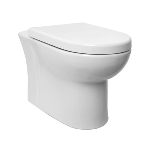 Radiant Back To Wall / Furniture Toilet Pan and Soft Close Toilet Seat