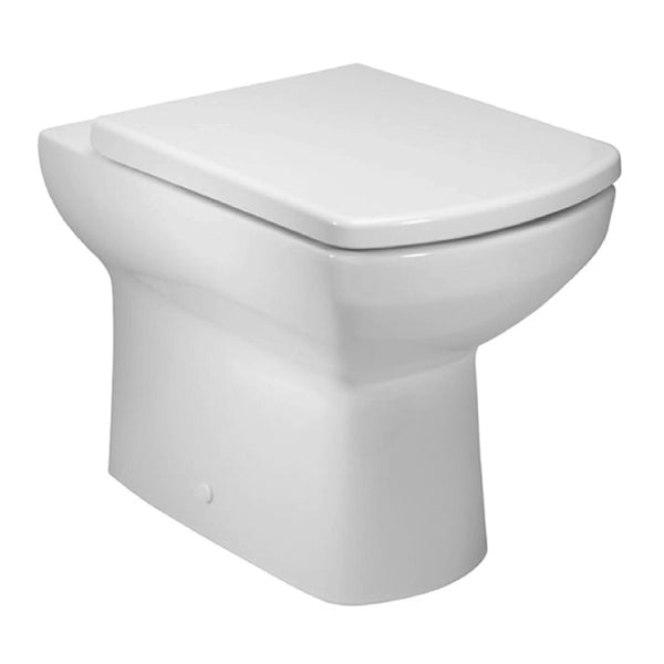 Aspire Back To Wall / Furniture Toilet Pan and Soft Close Toilet Seat