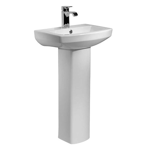 Aspire 460mm 1 Tap Hole Basin and Pedestal
