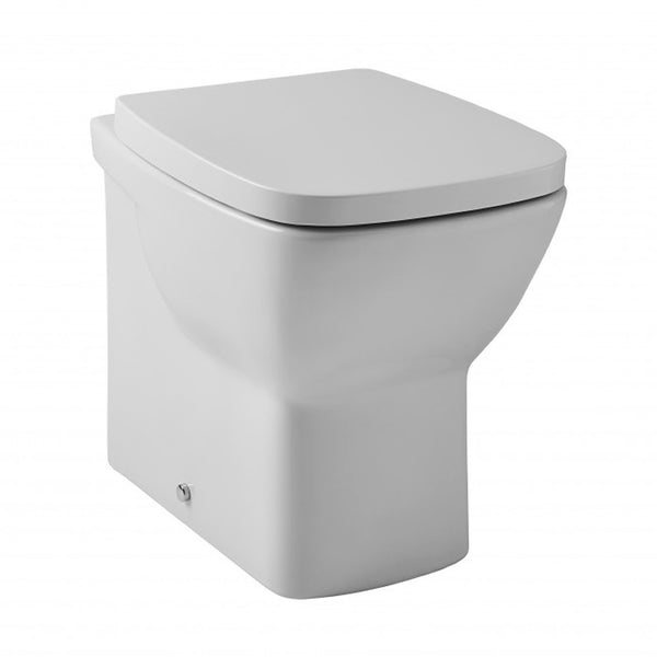 Elated Back To Wall / Furniture Toilet Pan and Soft Close Toilet Seat