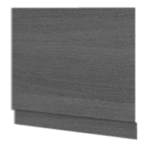 Radiant 700mm Bath End Panel - 2 Piece Grey Ash