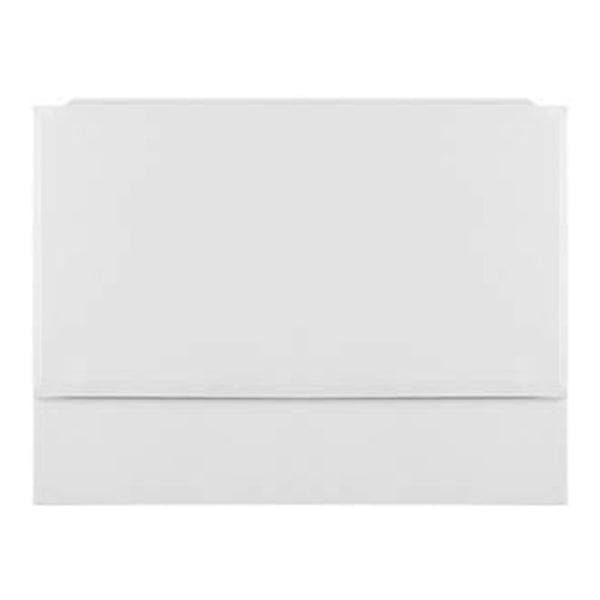 Radiant 800mm Bath End Panel - 2 Piece White