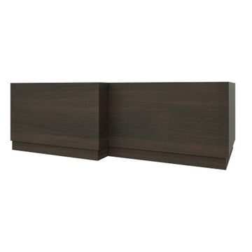 Radiant 1700mm L Shaped Bath Panel - Chestnut