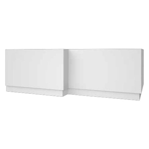 Radiant 1700mm L Shaped Bath Panel - White