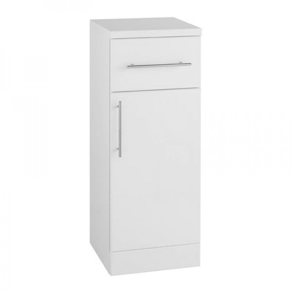 Innovate 250mm x 300mm Single Door Bathroom Furniture Base Unit - White