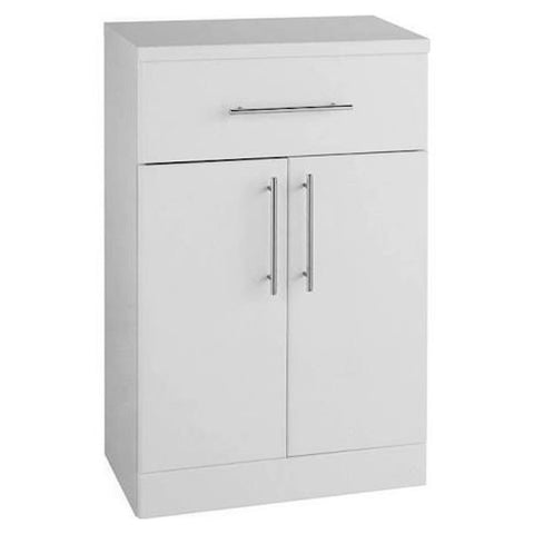 Innovate 500mm x 330mm Double Door Bathroom Furniture Base Unit - White