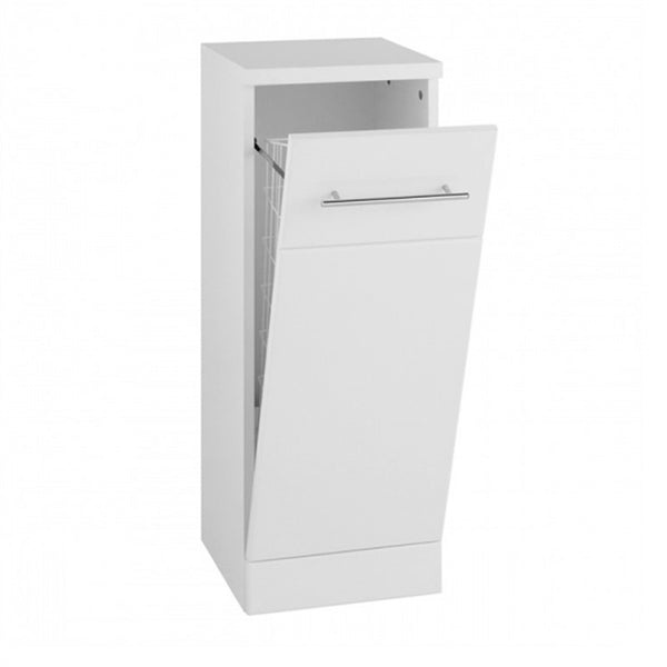 Innovate 300mm x 330mm Floor Standing Laundry Unit Bathroom Furniture Unit - White