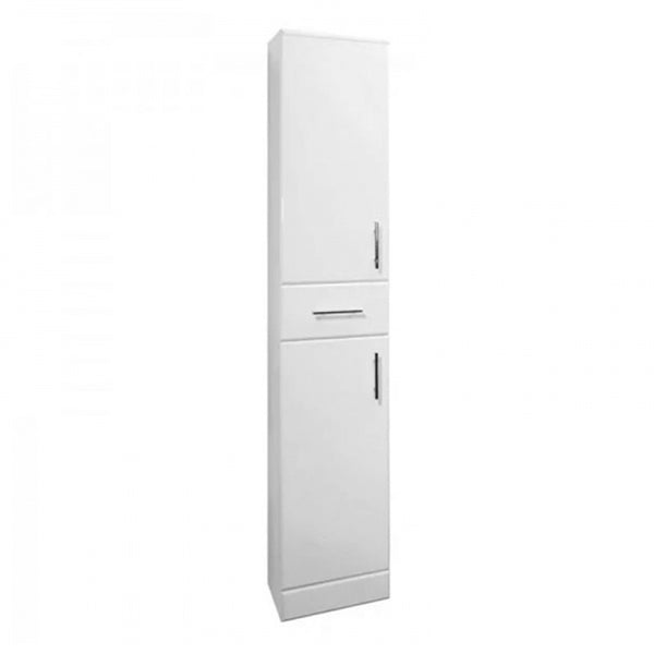 Innovate 1900mm x 350mm x 300mm Bathroom Floor Standing Tall Side Unit - White