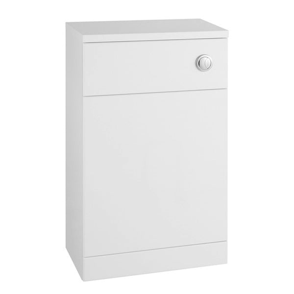 Innovate 600mm x 330mm WC Toilet Bathroom Furniture Unit - White