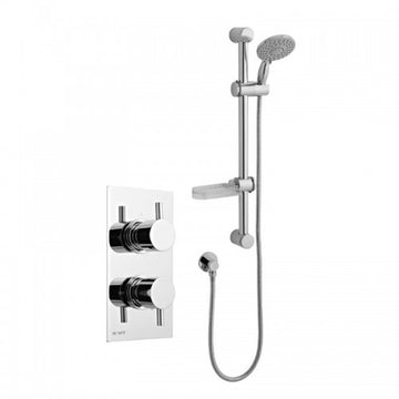 Precious Thermostatic Concealed Shower Valve with Adjustable Slide Rail Kit