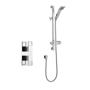 Kind Thermostatic Concealed Shower Valve with Adjustable Slide Rail Kit