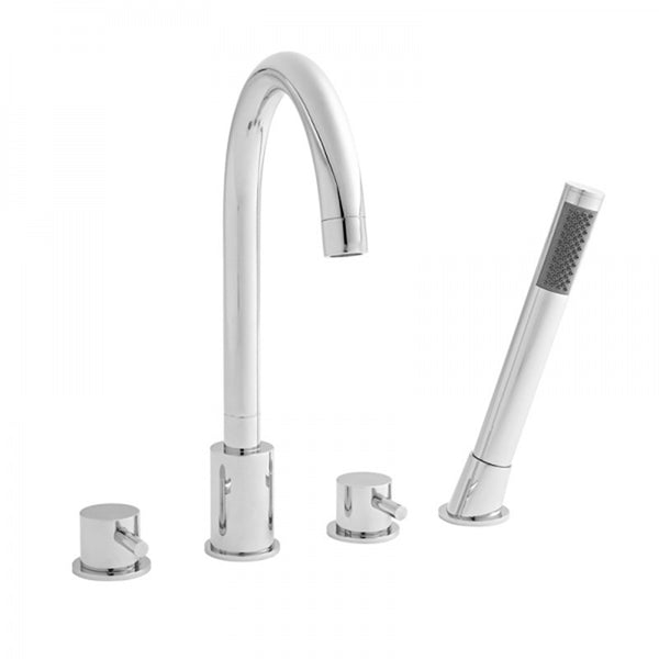 Precious 4 Hole Bath Shower Mixer Tap