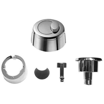 Grohe Eau2 Old Style Dual Flush Pneumatic Chrome Toilet Push Button Only 42204PI0