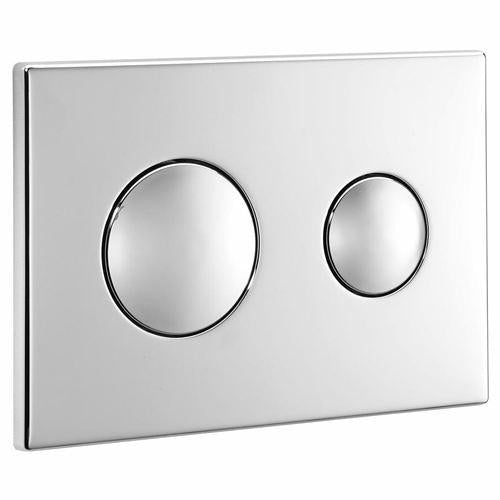 Ideal Standard / Armitage Shanks Chrome Dual Flush Plate S4399Aa Toilet Spares