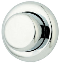Thomas Dudley Palm Push Royal Single Flush 51mm Chrome Toilet Push Button