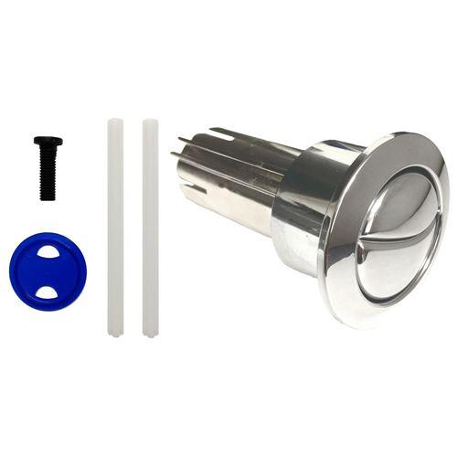 Roca D1D Old Style Long Dual Flush Chrome Toilet Push Button Ah0002000R Spares