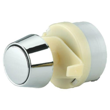 Thomas Dudley Pushflo Cone Single Flush 50mm Chrome Toilet Push Button 316269