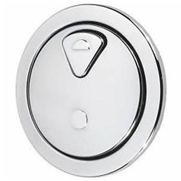 Thomas Dudley Vantage Dual Flush 73.5mm Chrome Toilet Push Button 315921