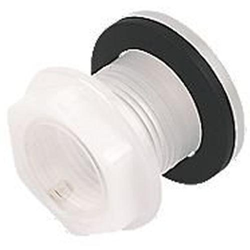 Universal White Cistern Blanking Plug Push Button Spare Parts
