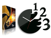 123 Digits...Wall Clock - schmoo.shop