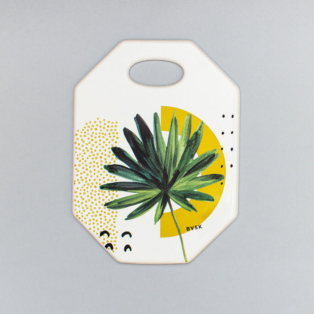 Mustard Palm Ceramic Board - schmoo.shop