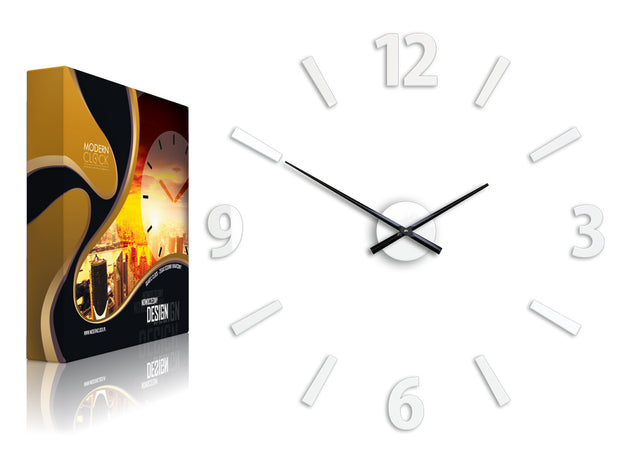 Klaus White Wall Clock - schmoo.shop