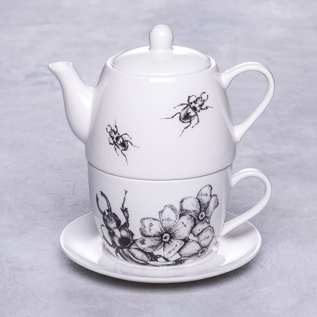 Beetles and Flowers Teapot Set - schmoo.shop