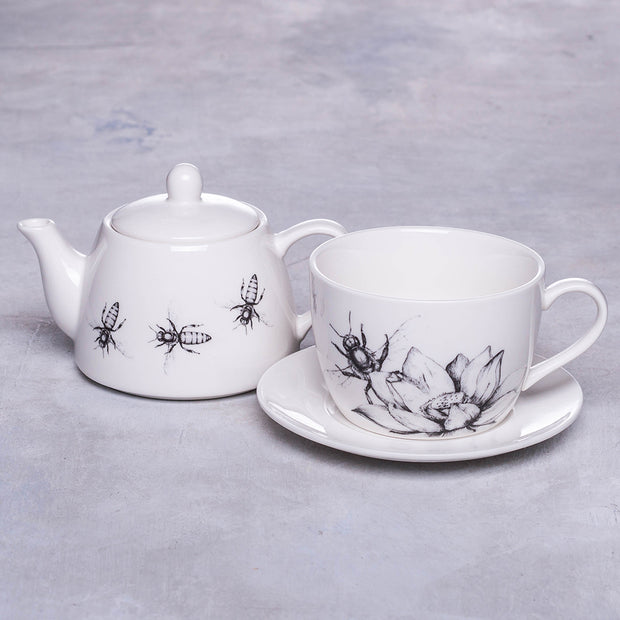 Bees and Flowers Teapot Set - schmoo.shop