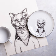 British Cat Cup & Saucer - schmoo.shop