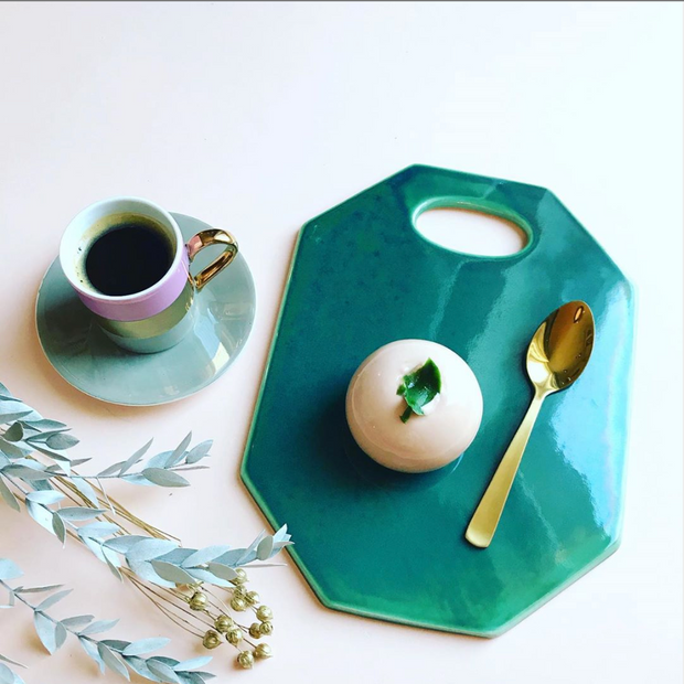 Galactic Green Ceramic Board - schmoo.shop