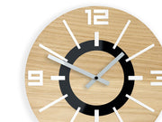 Alladyn Wood Wall Clock - schmoo.shop