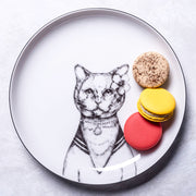 British Cat Dessert Plate - schmoo.shop