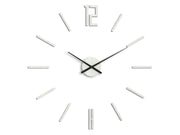 Minimalistic White Wall Clock - schmoo.shop