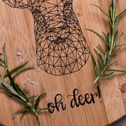 Geometric Deer Decorative Board - schmoo.shop