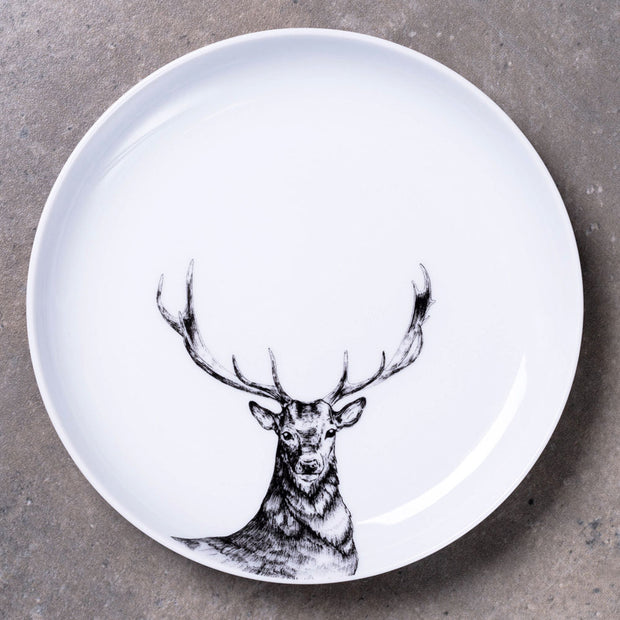 Deer Dinner Plate - schmoo.shop