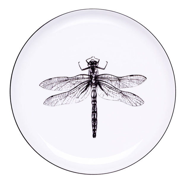 Dragonfly Dinner Plate - schmoo.shop