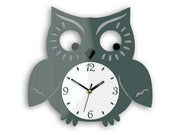 Owl Wall Clock - schmoo.shop