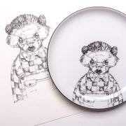 Hedgehog Dessert Plate - schmoo.shop