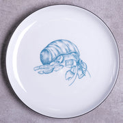 Hermit Crab Dinner Plate - schmoo.shop